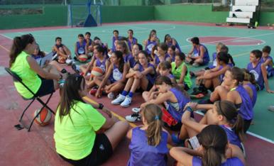 Campus d'estiu extern del TGN Bàsquet
