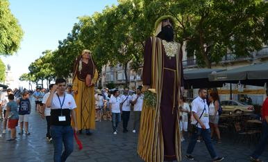 IV Encuentro de Gigantes y Enanos de San Magí.2