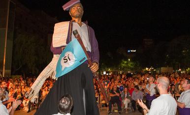 Reus escalfa motors per la Diada i l'1-O a la plaça de la Llibertat