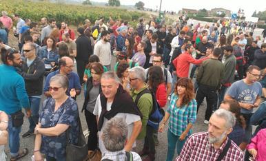 Talls a les carreteres per la vaga general del 3 d'octubre
