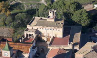 Imágenes del interior del Castillo de Llorenç del Penedès