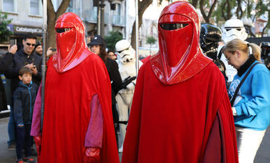 Desfile de Star Wars (1)