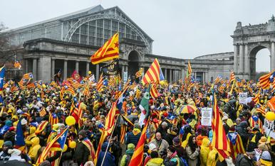Manifestación en Bruselas
