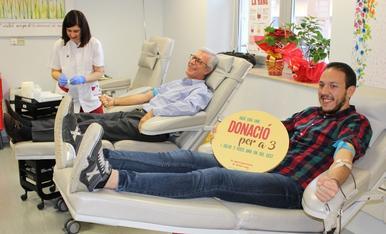 Marató de Donants de Sang al Joan XXIII
