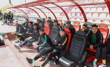 Partido amistoso entre el CF Reus y Hangzhou Greentown (I)