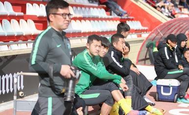 Partido amistoso entre el CF Reus y Hangzhou Greentown (II)