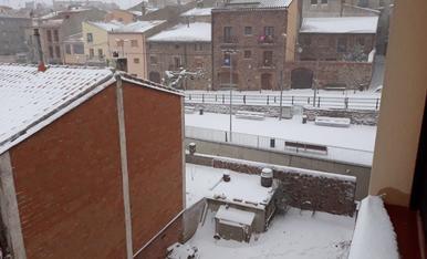 Les imatges de la nevada a Prades