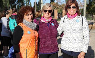 Prop de 800 persones participen en la caminada per la diabetis