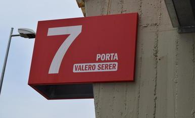 El Nàstic ret homenatge a Valero Serer (3)
