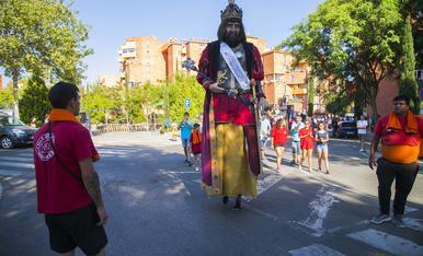 Bateig del Gegant Marcelí del Barri Gaudí