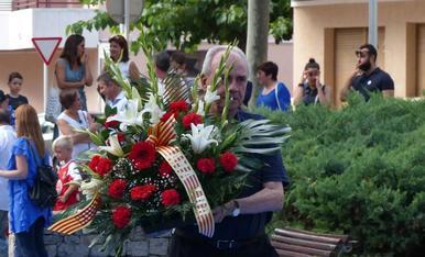 L'ofrena floral a Salou