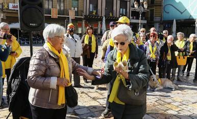 Els Avis i Àvies per la Llibertat celebren el seu primer aniversari