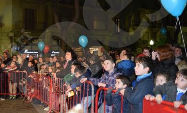 Encesa de les llums de Nadal a Tarragona