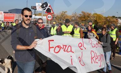 Protesta contra la Constitució a Tarragona (I)