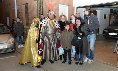 Els Reis d'Orient arriben al Morell