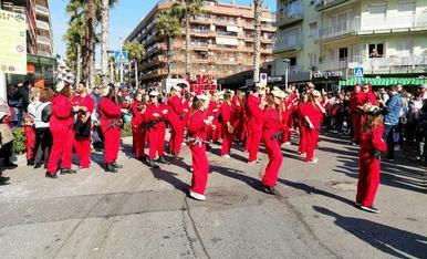 La desfilada matinal del Cós Blanc (1)