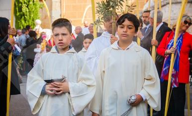 Benedicció de rams a Tarragona (I)