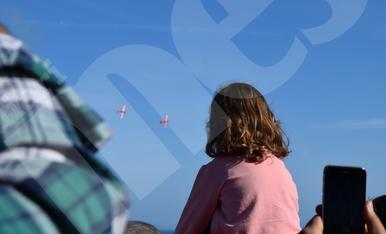 Séptima Exhibición Aérea en Tarragona (II)