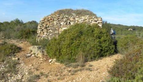 La cabana de pedra seca Mare Nostrum.