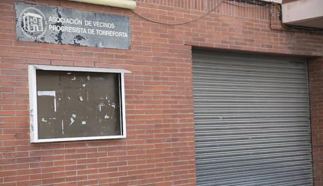La Associació de Veïns Progressista de Torreforta es una de las más reconocidas del barrio.