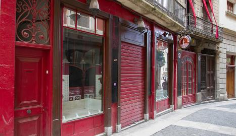 Una imatge de l'exterior del local del Cafè de Reus.