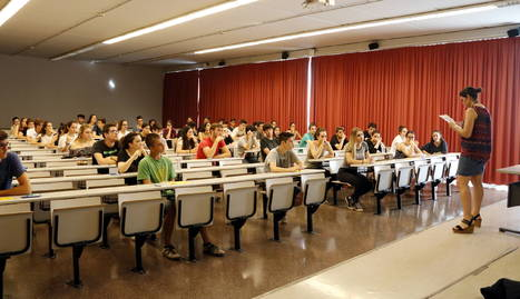 Un moment de les Proves d'Accés a la Universitat d'aquest 2017 al Campus Catalunya de la URV, que permetran als estudiants accedir als graus universitaris.