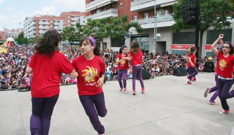 Imagen de archivo de una fiesta del Tarraconins