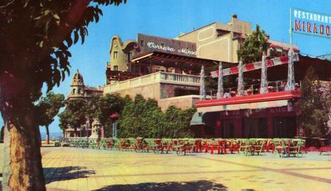 El restaurant Miramar que va ser punt de trobada al Balcó del Mediterrani.