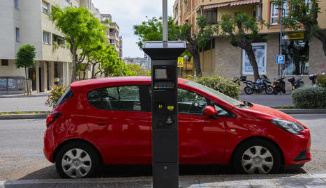 Permetrà gestionar les zones d'aparcament regulades sense necessitat d'anar al parquímetre.