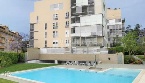 Una piscina comunitària de Reus