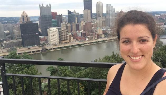 Silvia Pisabarro quiere acabar el doctorado y buscar trabajo en la universidad americana.