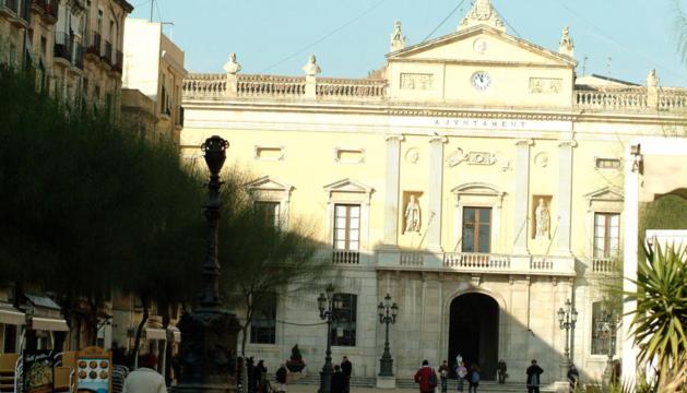 Fachada del Ayuntamiento de Tarragona.