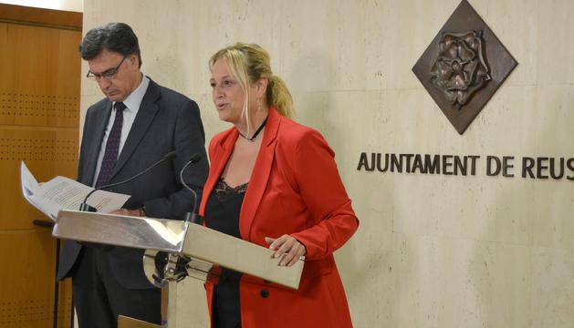 Imagen de la rueda de prensa en que se ha dado a conocer el acuerdo entre el Ayuntamiento y los restauradores para la unificación del horario de terrazas.