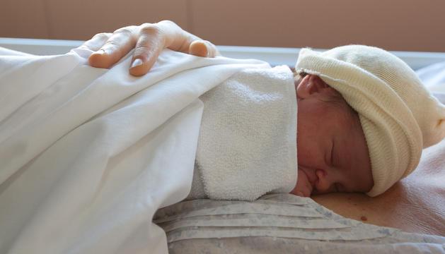 De pare italià i mare alemanya, la Kira Ricciarelli va ser el primer nadó de 2017 de la demarcació.