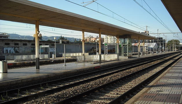 Imagen de archivo de la estación de tren de Reus.