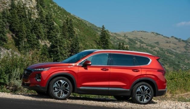 Imatge del nou model, redisenyat, del Hyundai Santa Fe.