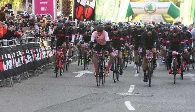 Pereiro i Contador, entre els ciclistes que han pres part a la cita