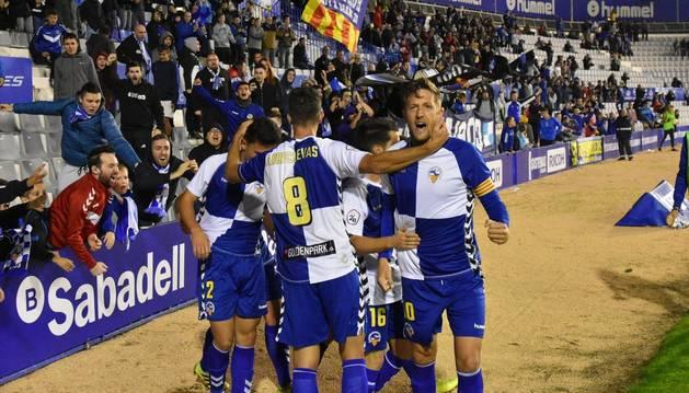 Édgar Hernández es el máximo goleador del equipo junto con Óscar Rubio y Manu Lanzarote, con tres dianas.
