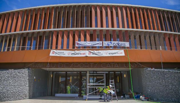 El Palau d'Esports rebrà pròximament el parquet que va marxar a Girona.
