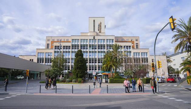 Imatge de l'Hospital Joan XXIII, un dels centres més tensats del Camp de Tarragona durant la fase dura de la pandèmia.