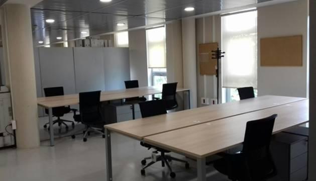 Imatge de l'interior de l'equipament judicial a Reus.