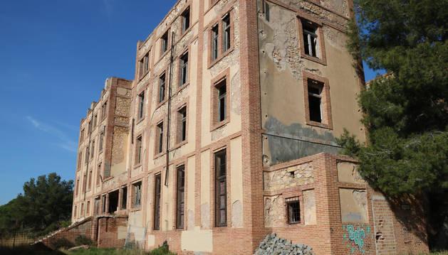 Imagen que ofrece en la actualidad uno de los edificios que forman parte del complejo de la Savinosa.