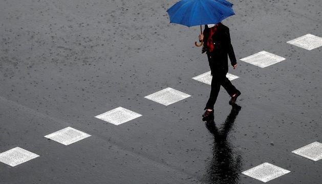 La previsió de pluja s'allarga fins aquest dissabte.