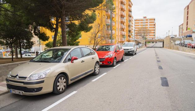 La calle N ha incorporado zona blanca sin eliminar carriles.