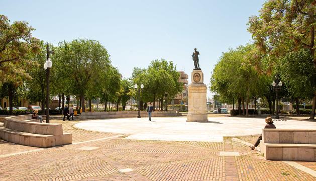 Imatge de la plaça dels Carros de Tarragona, on s'ubicarà el nou Mercat de la Pagesia.