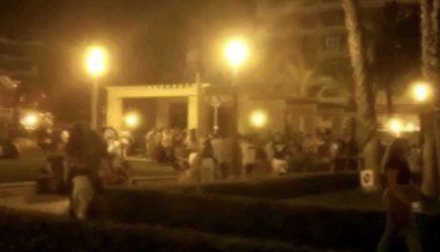 Imatge extreta del video que ARONS ha penjat a les xarxes socials.