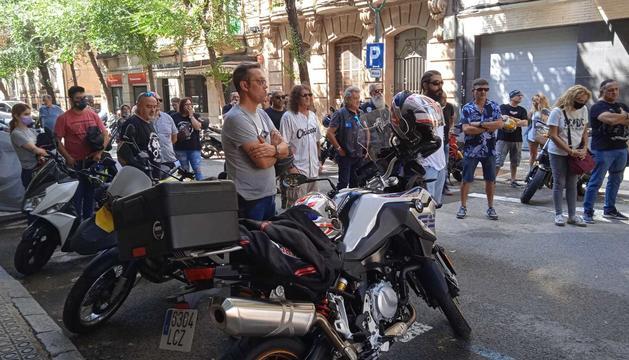 Imatge de la manifestació que va tenir lloc dissabte a la ciutat.