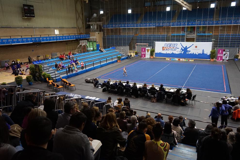 El pavell ol mpic acull el campionat de catalunya de - Pavello olimpic reus ...