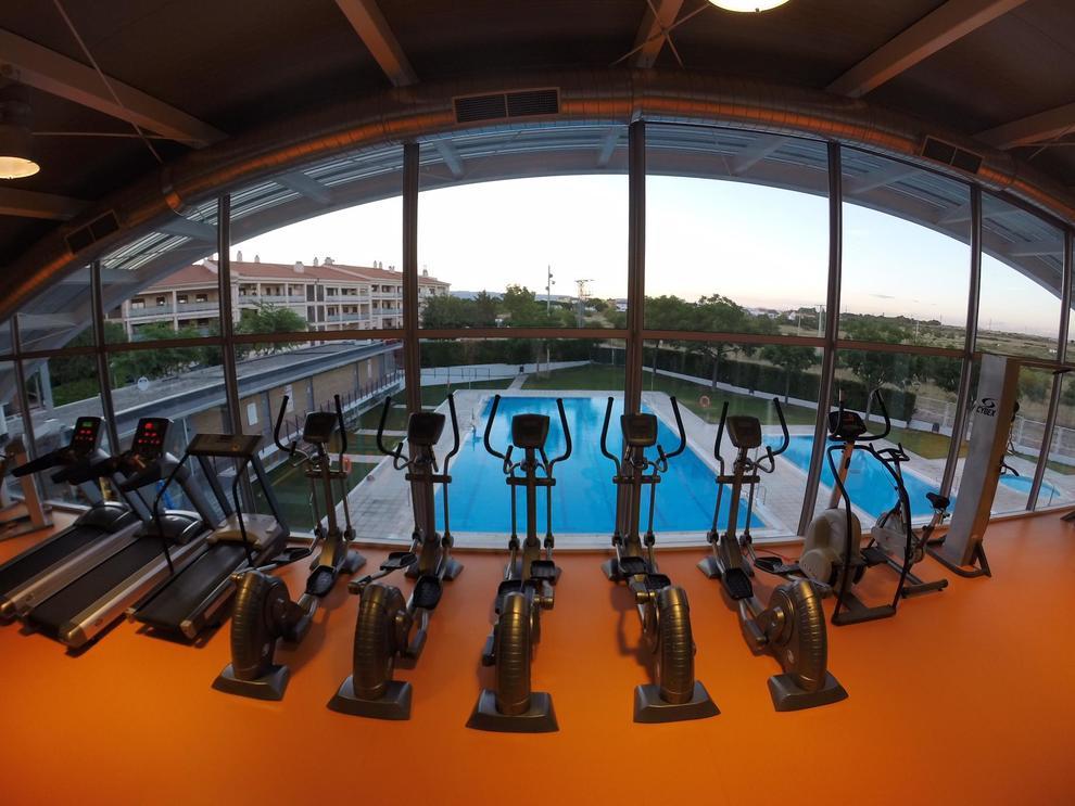 La ampliaci n del gimnasio del polideportivo de la canonja for Gimnasio tarragona