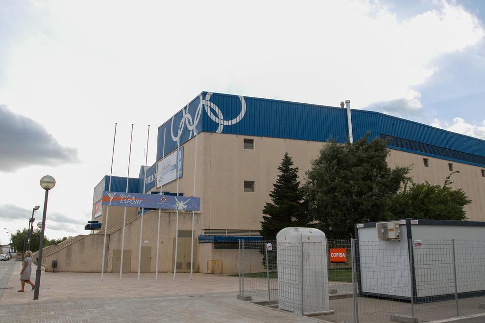 La remodelaci n del pabell n ol mpico y el estadio se - Pavello olimpic reus ...